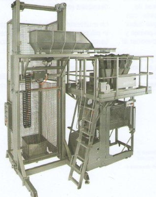 Multicabezal carga con contenedores