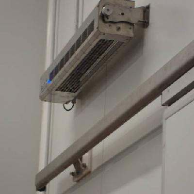 Instalaciónes equipo BAXX800 barrera